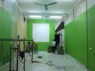 Xốp dán tường 3d giả gạch Công Ty Vật Liệu Nhà Đẹp 968 BathroomDecoration OSB Black