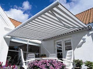 Lancar jaya kanopi Balconies, verandas & terracesFurniture Aluminium/Zinc Grey