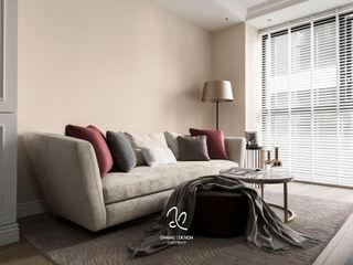 成綺空間設計 Salas de estar clássicas