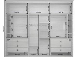 Decordesign Interiores ВбиральняГардероби та висувні ящики ДСП Білий