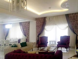 Hiba iç mimarik Living room Purple/Violet