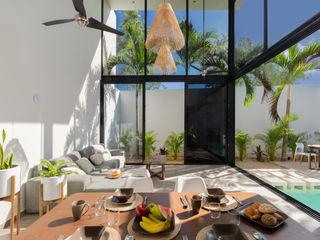 CO-TA ARQUITECTURA 飯店 玻璃 White