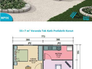 Multipan Prefabrik Endüstri Country style house