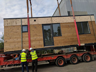 A Customisable/ flexible offsite construction solution: Building With Frames Wooden houses Wood