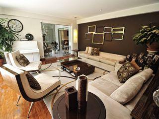 ORGANICA ARQUITECTURA Modern living room