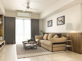 木質溫馨 愜意鄉村宅邸--富山居 木博士團隊/動念室內設計制作 客廳