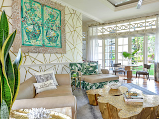 Design Intervention Tropical style living room