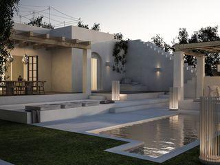 architetto stefano ghiretti Modern houses White