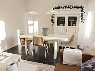 Whitehouse decorations Rustic style dining room
