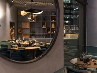 Grippo + Murzi Architetti Gastronomía de estilo moderno