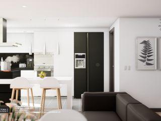 Apartamento modelo Pascana de San Francisco - año 2019. EHG arquitectura y construcción