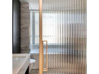 WITHJIS(위드지스) Casas de banho modernas Alumínio/Zinco Ambar/dourado