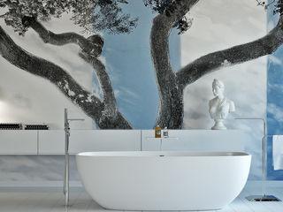 olivia Sciuto Baños de estilo moderno