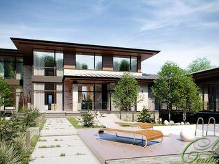 Компания архитекторов Латышевых 'Мечты сбываются' Casas minimalistas