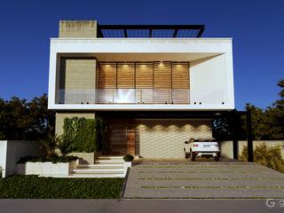 Projeto Casas Modernas Gelker Ribeiro Arquitetura | Arquiteto Rio de Janeiro Condomínios Concreto Branco