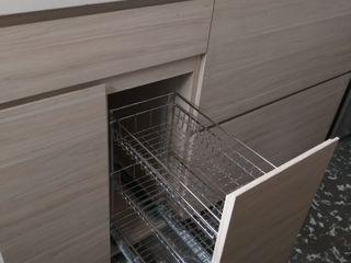 Cocina - Residencia Privada Pragma - Diseño CocinaMesas, sillas y bancos Blanco