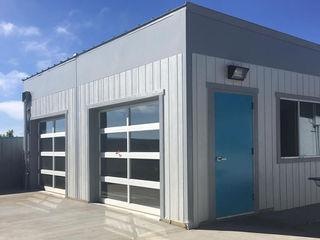 Modular Lab design and Build - San Diego French American School California S3DA Design Schools Grey