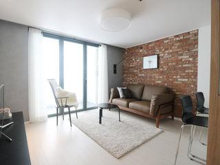 마포 24평 아파트 리모델링 스튜디오쏭 (STUDIO SSONG) 모던스타일 거실