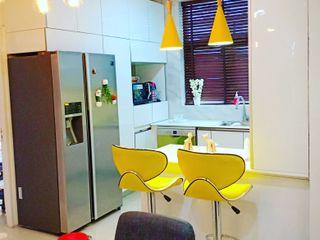 Maayish Architects CuisinePlacards & stockage Blanc