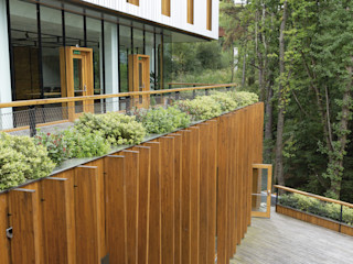 Hotel Arima Zuhaizki Casas de madera Madera maciza Acabado en madera