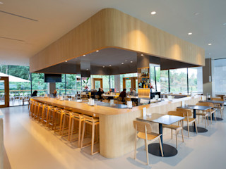 Hotel Arima Zuhaizki ComedorMesas Madera maciza Acabado en madera