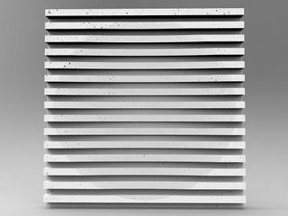 ZICARO - producent paneli 3D Industrial style dressing rooms Ceramic