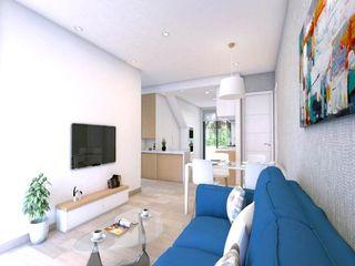 Villas Sunlife Habaneras VAQUERO&WORKGROUPS Viviendas Salones de estilo mediterráneo