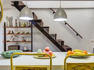 Decorando tu espacio - interiorismo y reforma integral en Madrid. CocinaMesadas de cocina Cerámico Amarillo