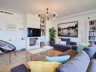 Decorando tu espacio - interiorismo y reforma integral en Madrid. Salas de estilo moderno