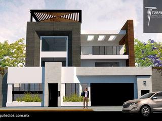Remodelación Casa CH Torres Arquitectos Proyecto y Construcción Casas unifamiliares Concreto Multicolor