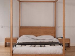 Decordesign Interiores СпальняЛіжка та спинки ДСП Дерев'яні