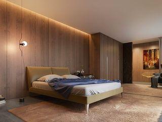 Johnny Thomsen Arquitetura e Design Cuartos de estilo moderno