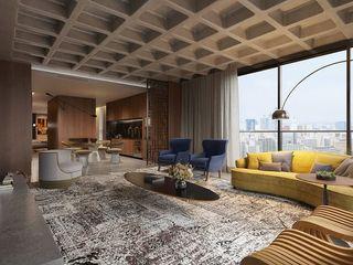 Johnny Thomsen Arquitetura e Design Salas de estilo moderno