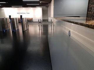Recepción Lobby Reforma 180 BODIN BODIN ARQUITECTOS Estudios y despachos modernos