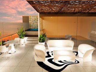 Luis Escobar Interiorismo Balcones y terrazas modernos
