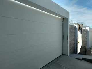 ESLAP PUERTAS AUTOMATICAS Carport Eisen/Stahl Weiß