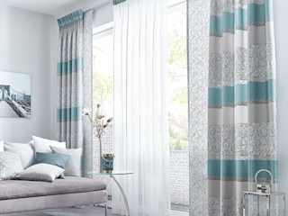 UNLAND International GmbH 窗戶與門窗廉與布簾 布織品 Grey