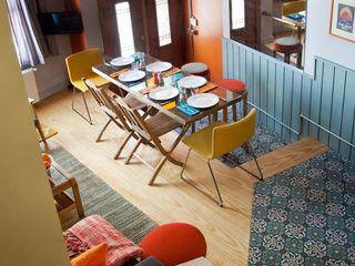 Private House Project-2 by KAROİSTANBUL KAROİSTANBUL Sala da pranzo in stile rustico