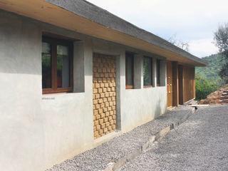 ALIWEN arquitectura & construcción sustentable - Santiago Passive house Wood Grey