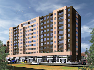 GONZALEZ & LEON ARQUITECTOS SAS Terrace house Bricks