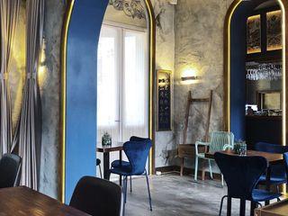 老上海懷舊風的創新餐飲商空設計 On Designlab.ltd 餐廳照明