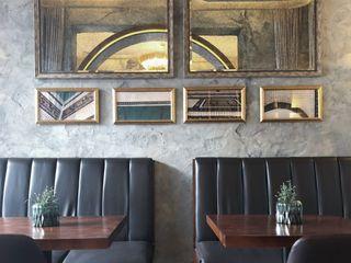 老上海懷舊風的創新餐飲商空設計 On Designlab.ltd 牆面
