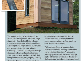 Cornwall Living Issue 84 Spring Edition 2019 Building With Frames Modern Houses Wood