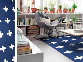 Colección Bazhars DiB (Tapetes decorativos) DiB México SalasAccesorios y decoración Algodón Azul