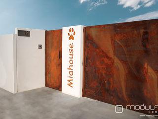 MODULAR HOME Розсувні двері Металевий / срібло