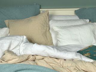 NatureBed Yatak OdasıTekstil Ürünleri Keten Bej