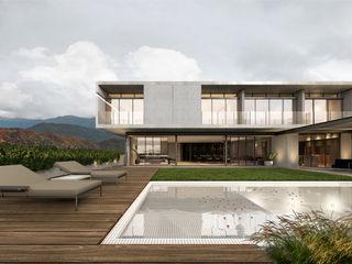 OTRA ARQUITECTURA S.C. Single family home Concrete