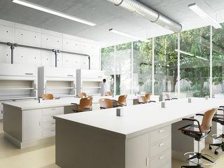 OTRA ARQUITECTURA S.C. Modern clinics Aluminium/Zinc