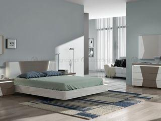 Decordesign Interiores СпальняЛіжка та спинки ДСП Білий