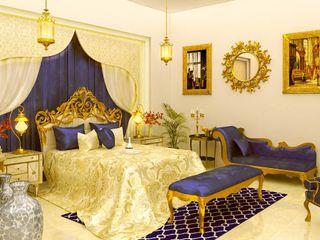 Maayish Architects ChambreLits & têtes de lit Bleu